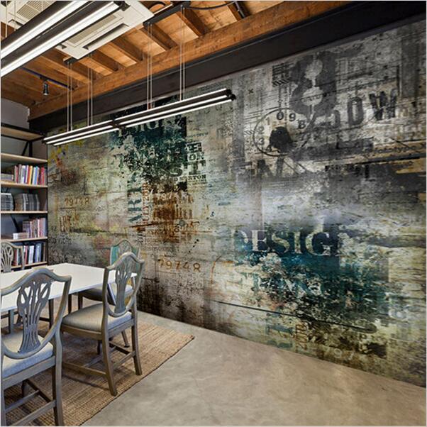 custom retro nostalgia graffiti murals wallpaper living 20 wall murals changing modern interior design with