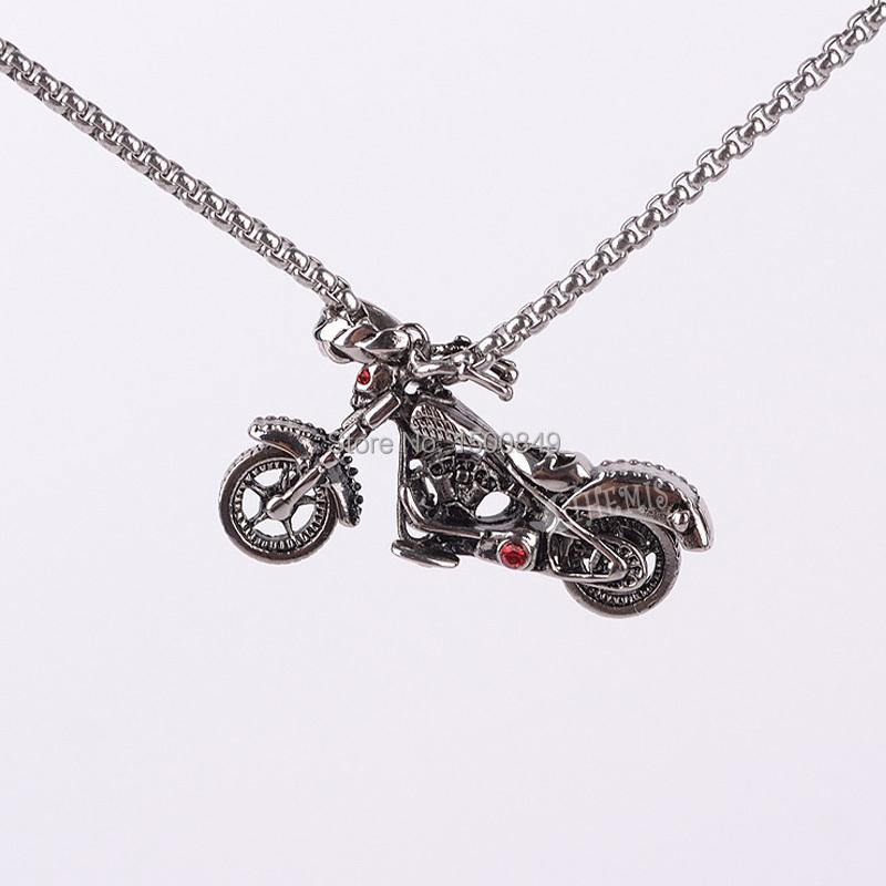 athemis steunk titanium steel necklace locomotive