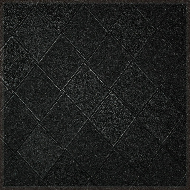 Black geometry dimond plaid imitation leather soft bag dermatoglyph wallpaper papeles pintados(China (Mainland))