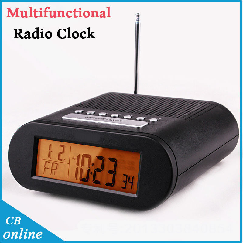 buy free shipping original high quality radio clock led digital alarm clock. Black Bedroom Furniture Sets. Home Design Ideas