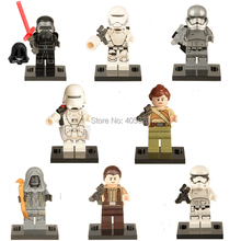 Star Wars 7 Minifigures Building Blocks Phasma Kylo Ren Han Solo Rey Finn Figure Classic Bricks juguetes para bebés Compatible con Lego(China (Mainland))