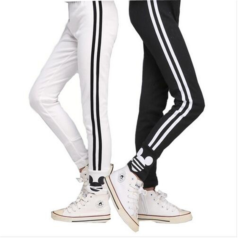 Free shipping autumn teenage 3-10Y girls leggings cotton pants for girls sport leggings children school trousers kids clothing(China (Mainland))