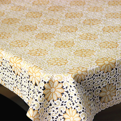 Free shipping IKEA upscale European-style garden floral cotton lace tablecloths round table cloth custom coffee table TV cabinet(China (Mainland))