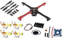 F450 Quadcopter Комплект Стойки Рамка APM2.6 и 6 М GPS 2212 1000KV HP 30A 1045 опора ~ F4P01