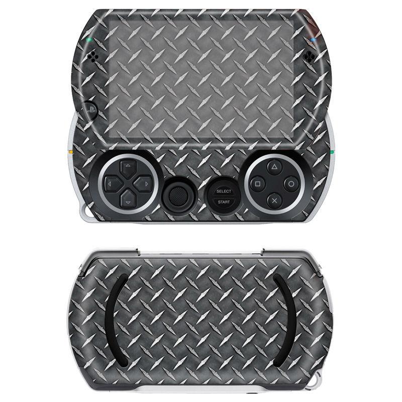 Carbon Fiber Black Sticker Protector for Sony PSP GO skins Stickers for PSPGO Game Accessories for PSP GO(China (Mainland))