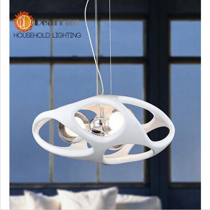 Фотография Free Shipping Dia 45CM Ltaly Modern Resin Pendant Lights Milan Creative Design Indoor Lighting Lamp PL Retail White&Red
