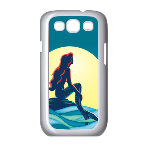 The Little Mermaid Moon Unique Samsung Galaxy S3 I9300 Durable Hard Plastic Case Cover Personalized Top DIYWholesale(China (Mainland))