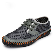 Breathable Men's Casual Summer Shoes 2016 Fashion Sport Outdoor Mesh Shoes Walking Men Water Shoes zapatos hombre Sandals