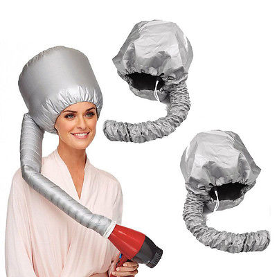 Portable Soft Hair Drying Cap Hood Hat Blow Dryer Attachment Curlformers(China (Mainland))