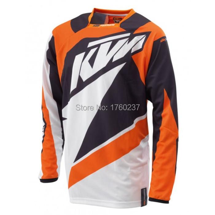 2015 NEW Motorcycle Racing cycling jersey long sleeve BMX MTB bike off-road KTM Motocross Jersey Downhill Bicycle T-Shirt(China (Mainland))