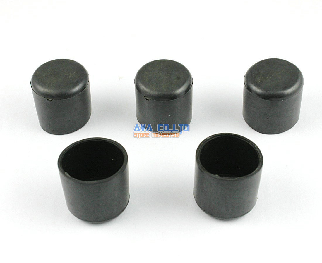 60 Pieces 19mm Round Rubber Furniture Chair Table Leg Cover Floor Protector<br><br>Aliexpress