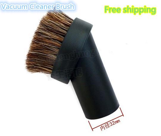 32mm Inner Diameter Hair Sofa Brush Floor Brushes for Electrolux Karcher Vacuum Cleaner Wholesale !(China (Mainland))