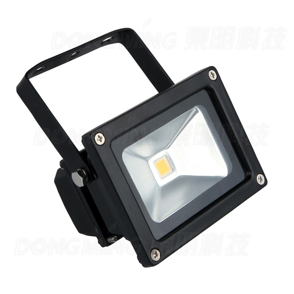 2016 new lowest price 10pcs dimmable led flood light outdoor cool white IP65 900LM RGB 10w led flood light bulbs 12V DC(China (Mainland))