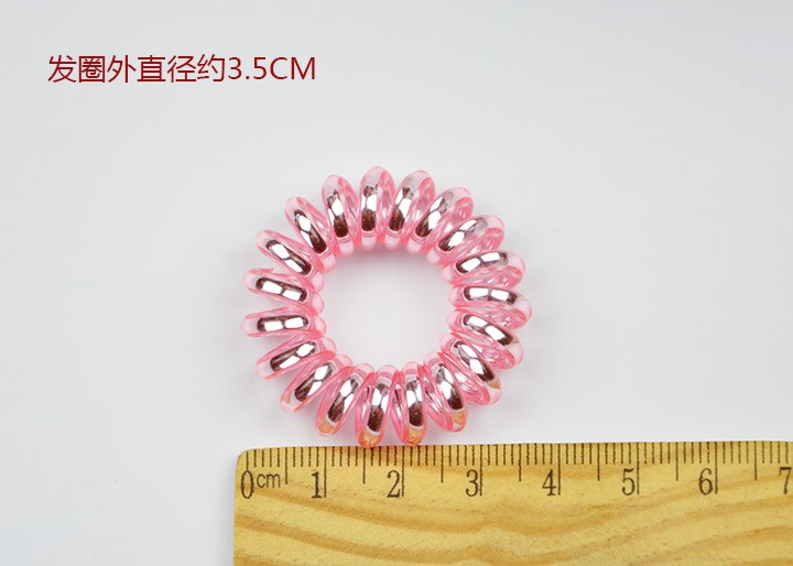 10pcs/lot Girls Kid Telephone Line Gum Cord Elastic Ponytail Holders Hairband Headband Ring Rope Scrunchy Gum For Hair Styling