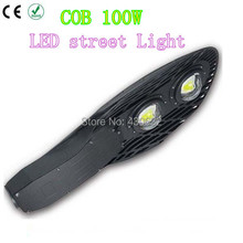 Led Street lights 100W COB 2*50W E40  Led industrial light IP66 waterproof Outdoor Off Road Lighting(China (Mainland))