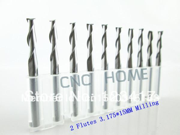 Фрезы CNC HOME 10 3.175 * 15 ,  2 ,  ST3-LX0315