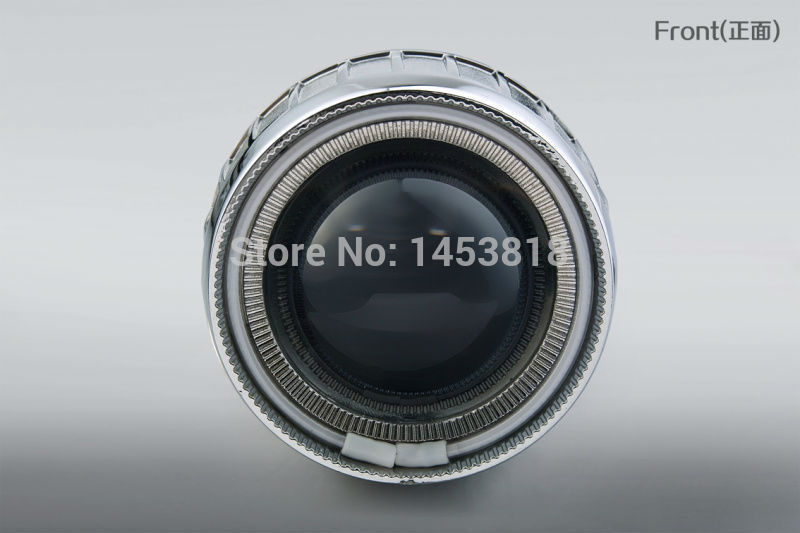 2GB 35w 2.5'' inch H1 H4 H7 bixenon hid projector lens kit 4300k 6000k White Blue Red CCFL Angel Eye + 2pcs 35W AC Slim Ballast