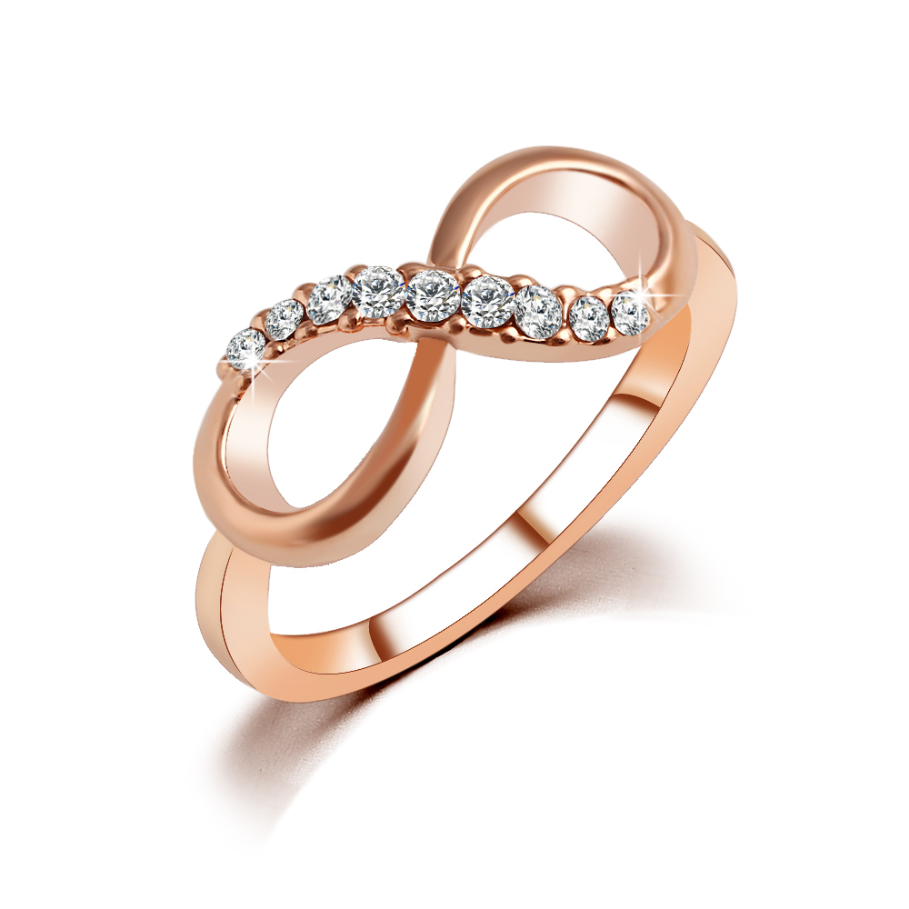 new design sale fashion alloy rings gold color