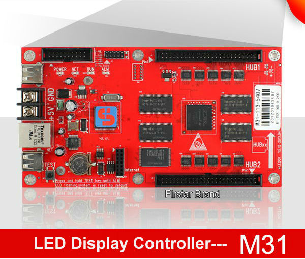 Full Color LED Asynchronous Controller M31 Work Screen - Firstar(MyLED store Optoelectronics Co.,Ltd)