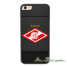FC Spartak Moscow Phone Case for iPhone 4S 5S 5C 6 6S touch Plus Samsung Galaxy S3 S4 S5 Mini S6 Edge Plus A3 A5 A7 Note 2 3 4 5
