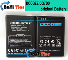 Doogee DG700 аккумулятор 100% оригинальный 4000 мАч резервный аккумулятор для DOOGEE DG700 смартфон + в наличии + бесплатная доставка