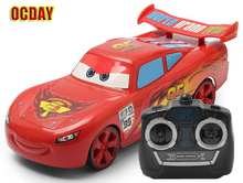 OCDAY Kids Cute Cartoon 4 direction Remote Control Car toys for children electronic radio control rc Cars electric toy Gift mode(China (Mainland))
