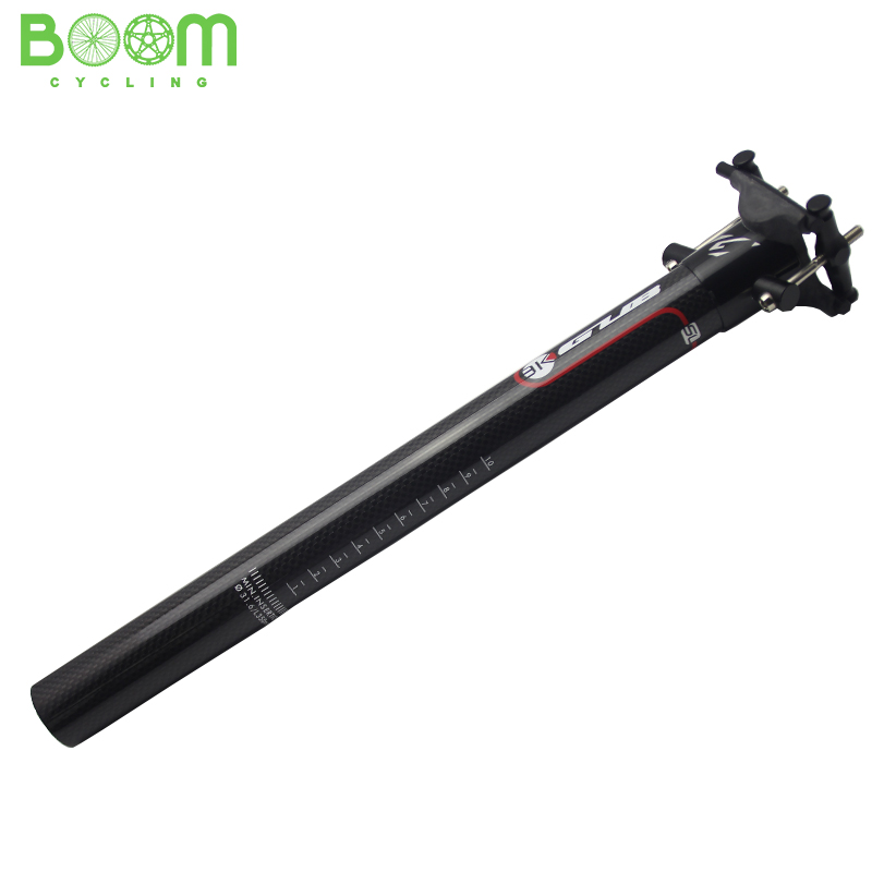 Bicycle Seat Post GUB SL Seat Post Carbon Fiber Bicycle Bike Seatpost free shipping 27.2/30.9/31.6mm *350mm
