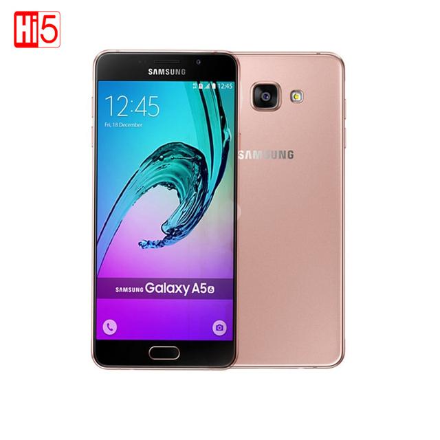 2016 Оригинал Samsung Galaxy A5 A5100 мобильные телефоны 5.2 ''Android 5.1 Dual SIM MSM8939 Octa Ядро 2 Г RAM 16 Г ROM 13.0MP 4 Г LTE