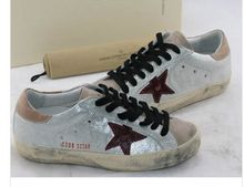 9 style hot seller Brand High Quality Golden Goose Superstar Genuine Leather Men & Women Lace up Casual Shoes scarpe donna Y657(China (Mainland))