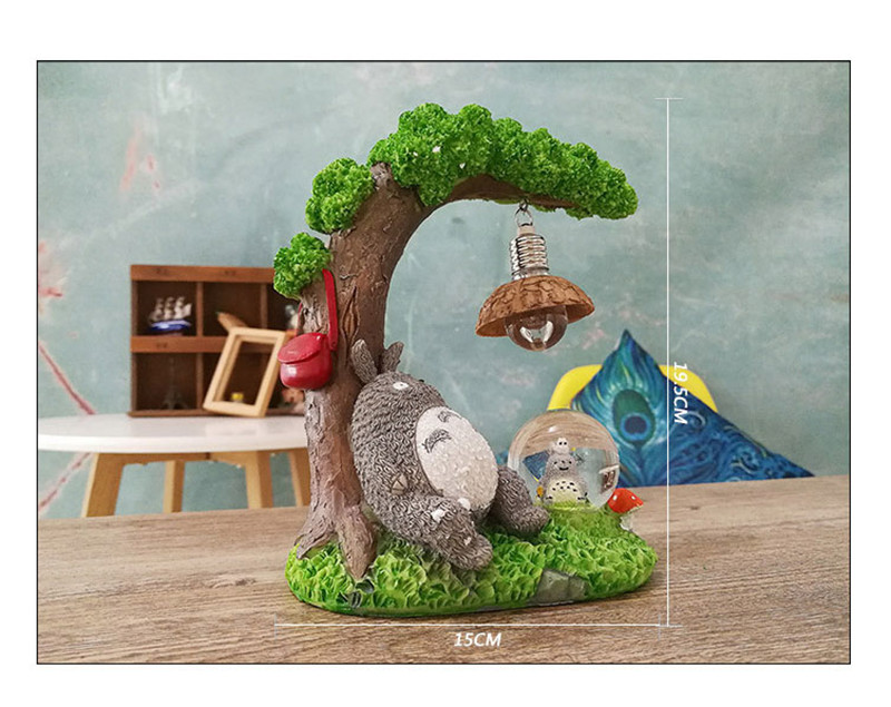 ... My Neighbor Totoro U2013 Home Decor Night Lamp With Crystal Ball U2013 2 Styles  Available