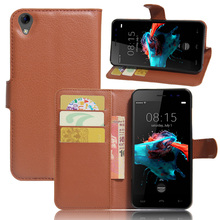 """Buy Fashion Wallet Flip Case Homtom HT16 5.0"""" Vintage Phone Cases Magnetic Phone Cover Stand Holder for $3.48 in AliExpress store"""