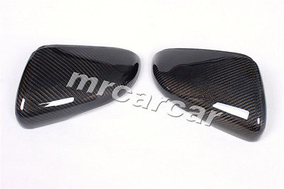 Фотография MK6 Replace style Carbon Fiber Side Mirror Covers Caps Fit For Volkswagon VW Golf VI MK6 & GTI 2010-2013