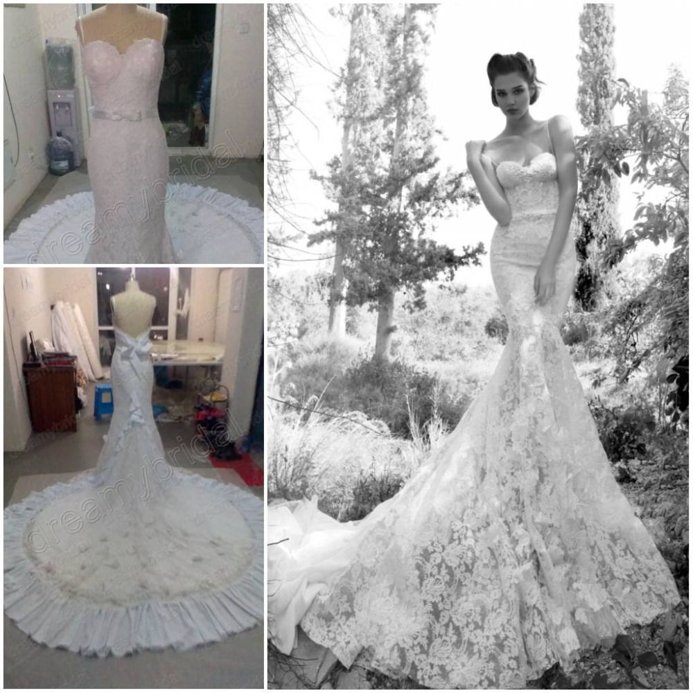 dreamybridal real pictures free shipping vintage lace