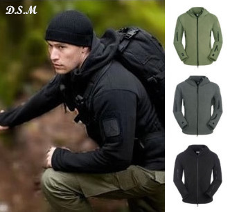 New brand men Lurker Shark skin Soft Shell Fleece hooded TAD Outdoor Military Tactical hiking Jacket Sport hunter Clothing<br><br>Aliexpress