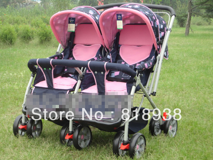 SandyS Store #100%New Brand Good Baby Twins&amp;Baby Stroller Double Pram Cheapest Price For Sale<br><br>Aliexpress