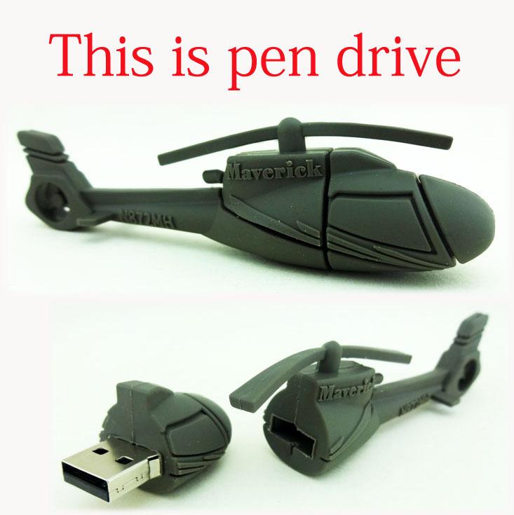 usb flash drive plane pendrive u disk 2GB 4GB 8GB USB Flash Drive RAH - 66 Comanche helicopter memory storage flash card Gift(China (Mainland))