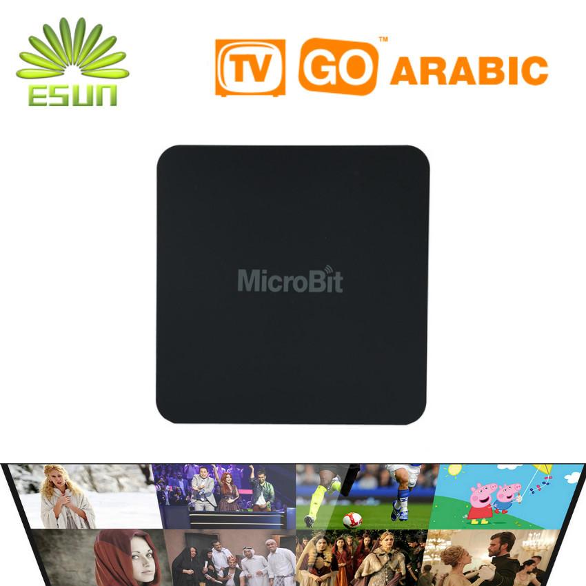 ESUN Mbox Mini 1 Year Free 600+ Arabic Europe IPTV TV Box Android4.4 10000+ Free Movies Special KODI Launcher Best Smart TV Box(China (Mainland))