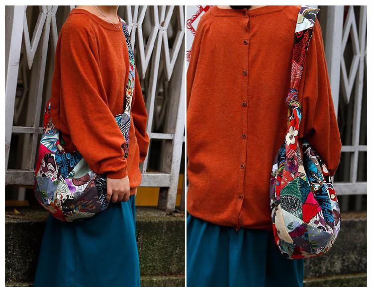Bohemian Hippie Cloth Crossbody Shoulder Bag women shoulder woman  bags (19)