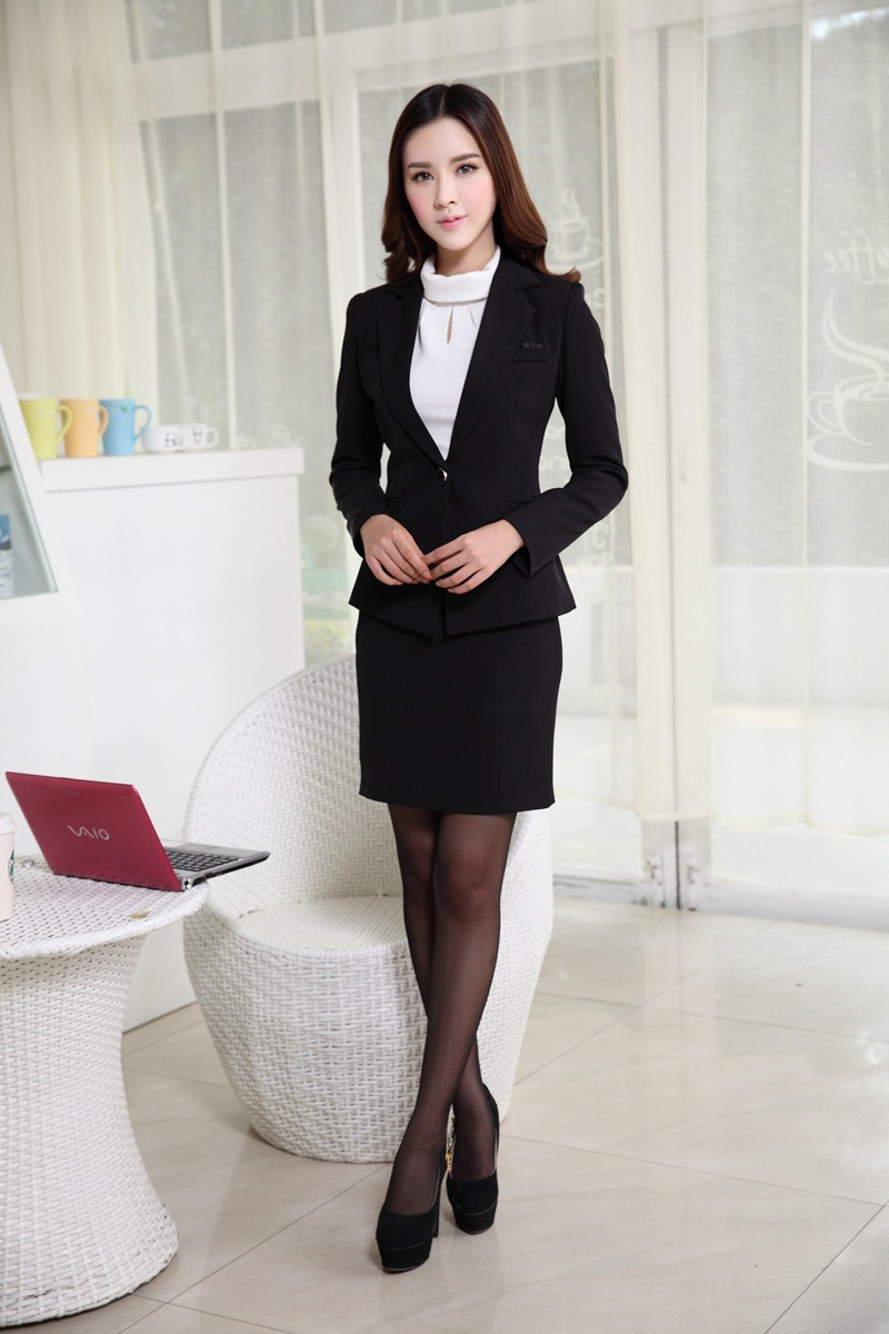 Womens Business Suits Formal Office Suits New 2015 Korean ...