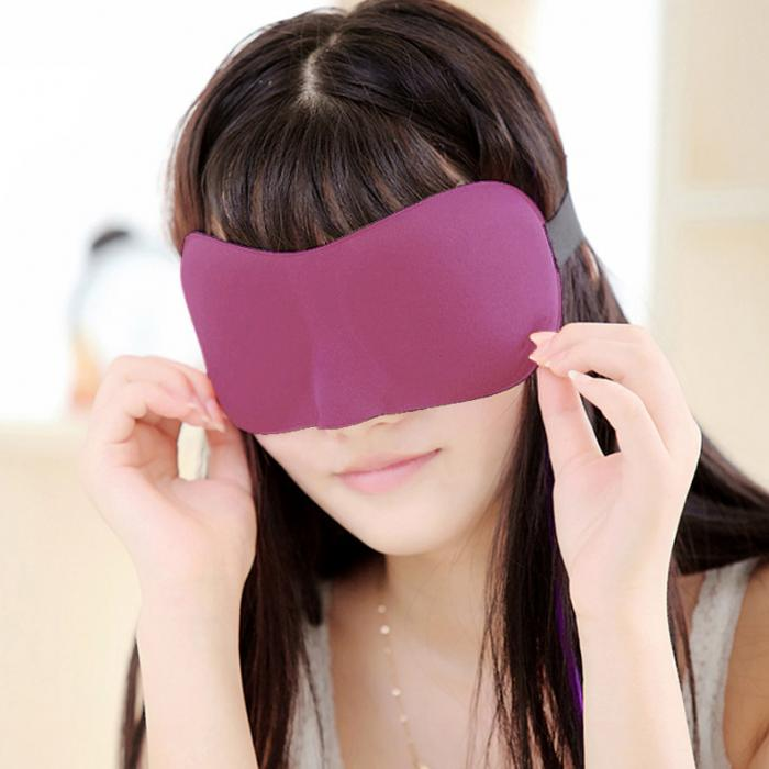 New 3D Eye Mask Shade Cover Rest Sleep Eyepatch Blindfold Shield Travel Sleeping Aid Eyeshade For Women Eye Care Tool  H7JP