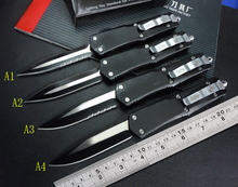 FANG OEM High-end Microtech knife troodon A162 A07 camping hunting Tacticall knives ( Aviation aluminum handle 440C blade )