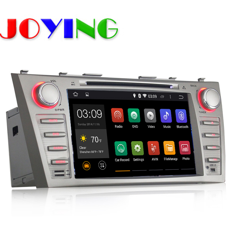 Quad Core 1024*600 car dvd gps for toyota camry Android 4.4 2 Din Car DVD Player GPS Navigation System Radio Stereo Head Unit(China (Mainland))
