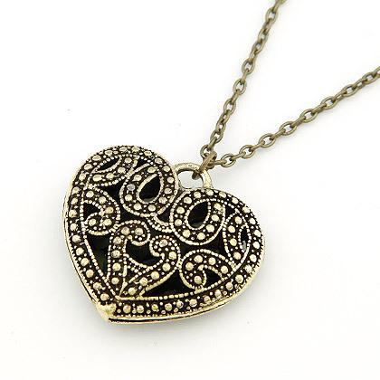 3PCS Fashionable Heart Rhinestone Women's Bracelets