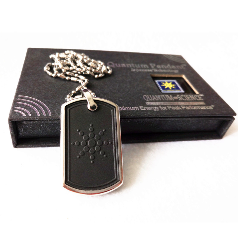 Best Selling Energy Pendant Stainless Steel Necklace Included Lava Quantum Pendant Charms Fashion Jewelry Wholesales Price 50pcs(China (Mainland))
