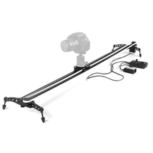 Fomito 120cm Camera Slider Electronic Motorized Camera Track Video Slider Video Stabilization for Cinema Film and Time Lapse