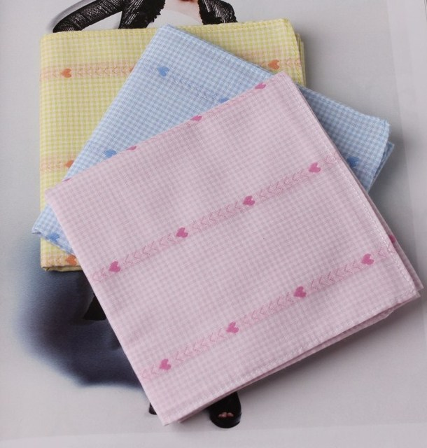 100% cotton handkerchief 100% cotton handkerchief women's handkerchief
