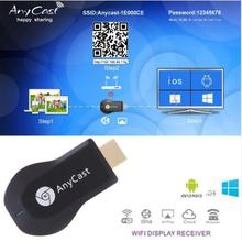Media Player TV Stick Push Chrome cast Wifi Display Receiver Dongle Chrome Anycast Dl na Air play  Free Shipping