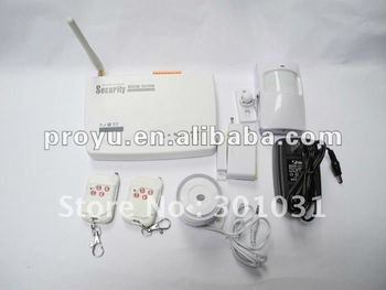 GSM wireless security alarm system with backup battery PY-GSM2