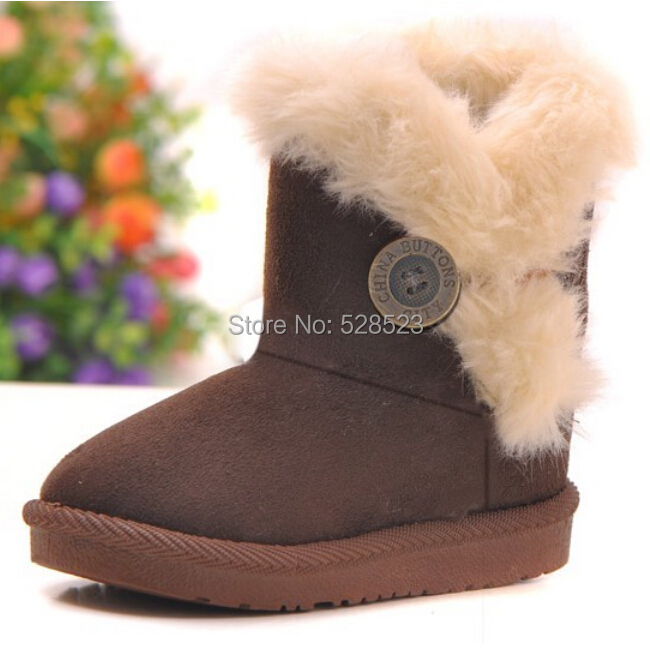 2015 New Baby Shoes Super Warm Winter First Walker Kids/Toddlers Snow Boot Baby Boy/Girls Sweet Candy Color Ankle Boots Shoe Hot(China (Mainland))