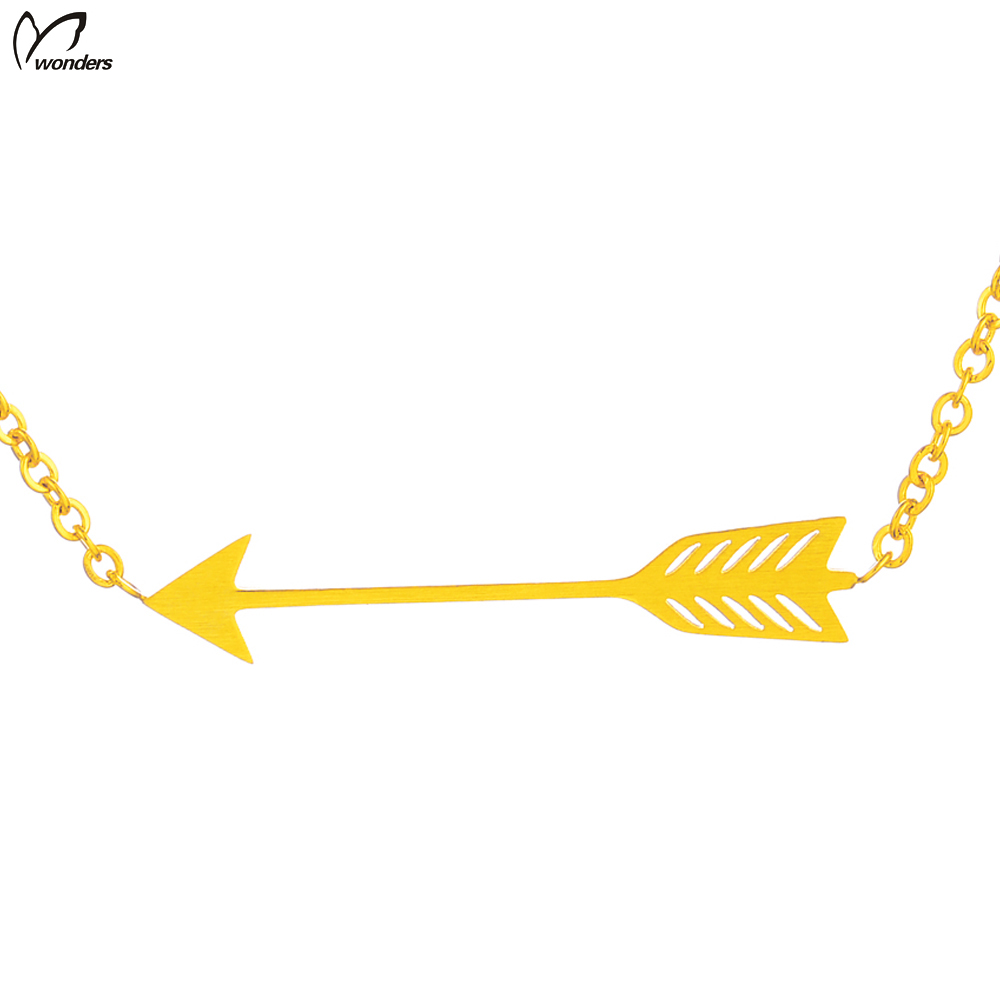Wonders 2016 Man Necklace Jewelry Sherlock Supernatural Arrow Necklace Space Gold Chain For Men One Direction Chokers DOTA 2(China (Mainland))